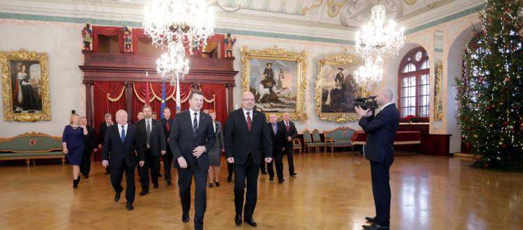 Tikšanās ar Latvijas Prezidentu R.Vējoni