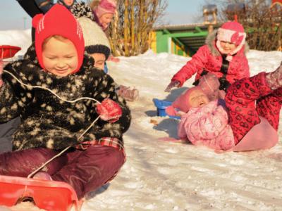 Sniega diena Krāslava
